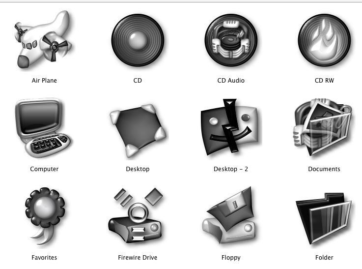 Noia Bogart for Mac OSX by carlitus
