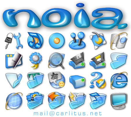 Noia Iconpack by carlitus