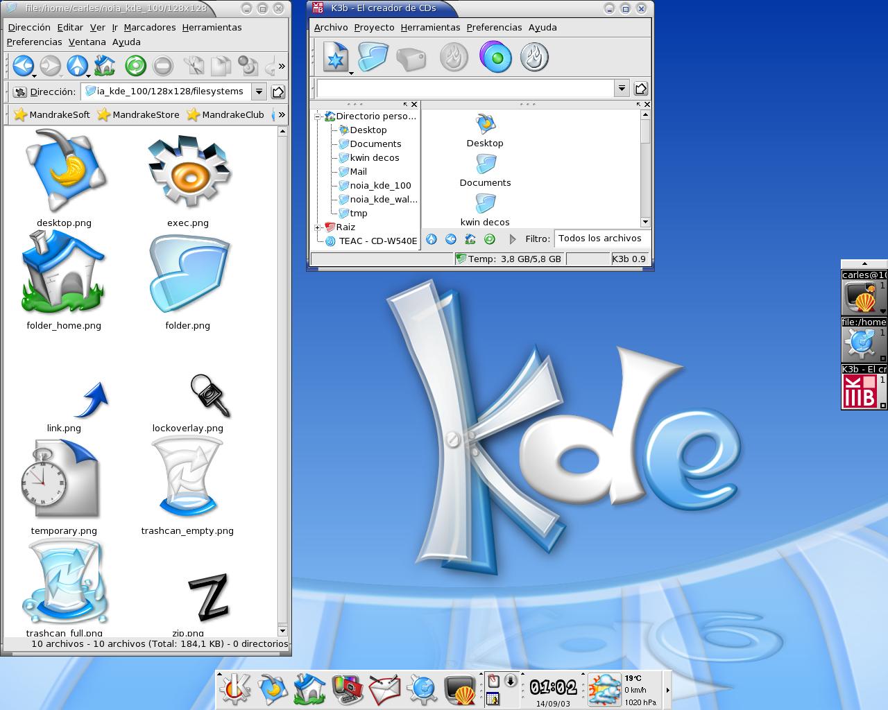 Noia KDE 1.00 by carlitus