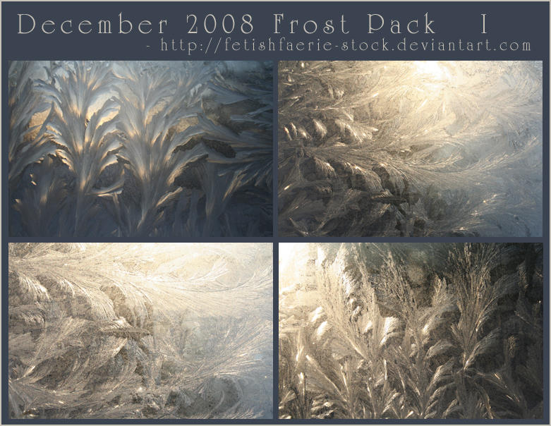 December 2008 - Frost Pack I by fetishfaerie-stock