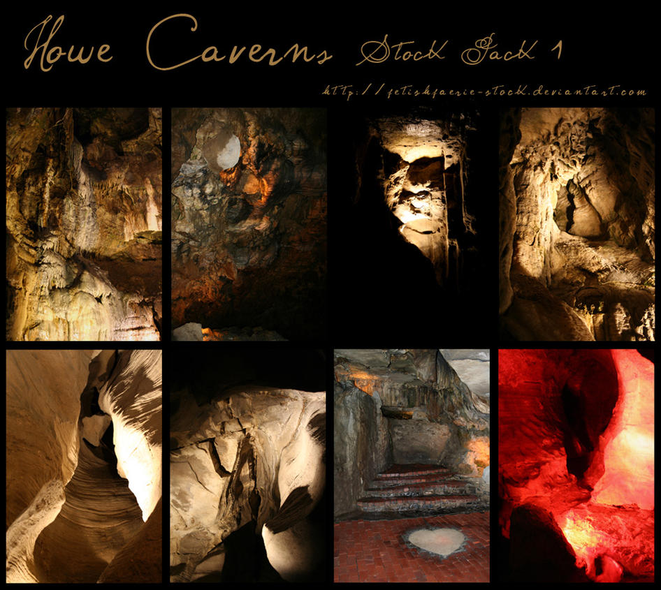 Howe Caverns Pack I by fetishfaerie-stock