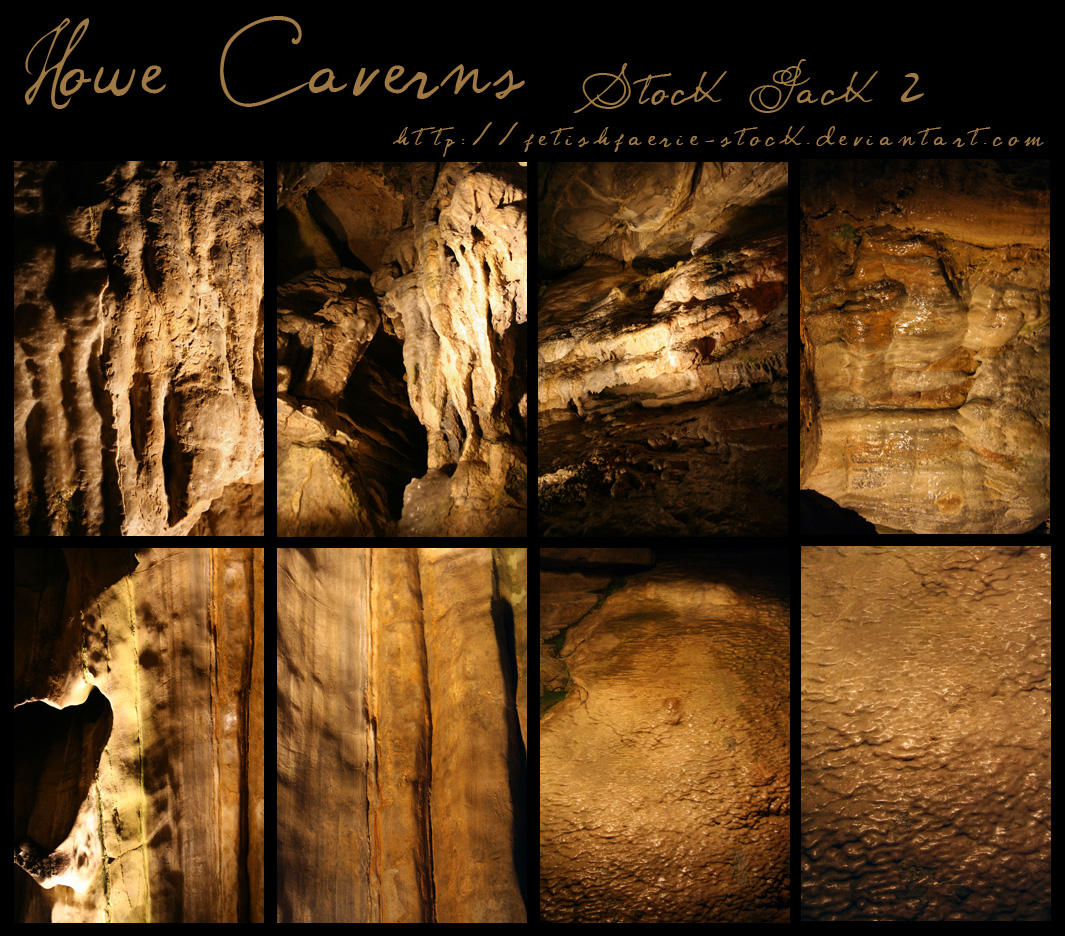 Howe Caverns - Pack II by fetishfaerie-stock