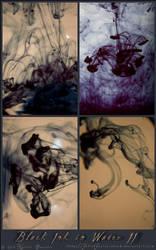Black Ink in Water II