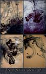 Black Ink in Water II by fetishfaerie-stock