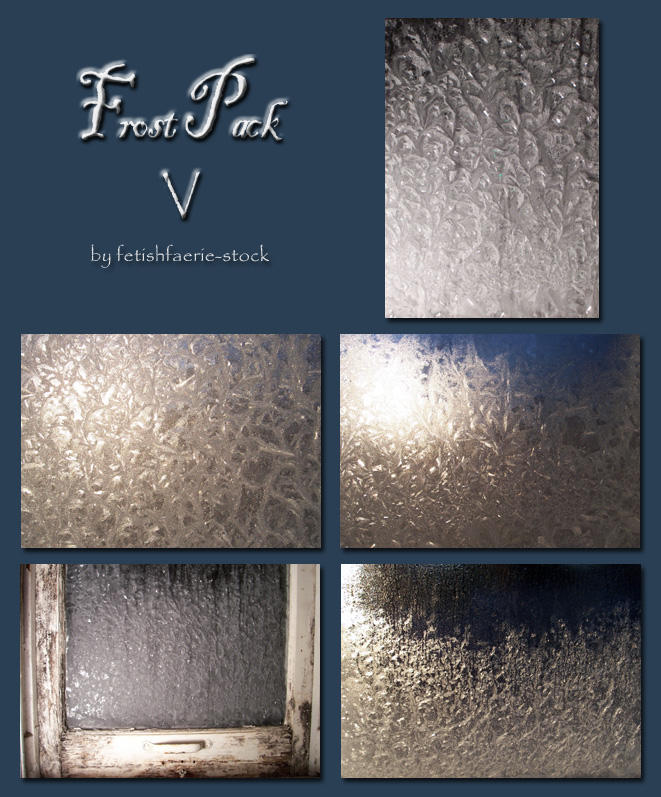 Frost Pack V by fetishfaerie-stock