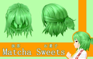 .:DL:. Hair ~ Matcha Sweets