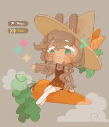 Bunny Cookie girl