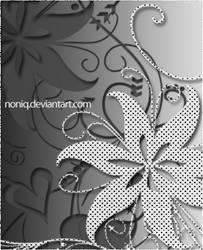 Floral Swirl by noniq