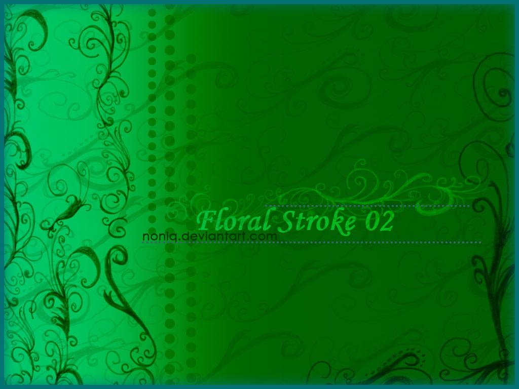 Floral Stroke 02 by noniq