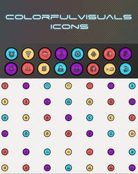 ColorfulVisuals Icons for Android by Rasa13