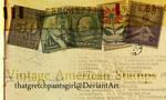 Vintage American Stamps