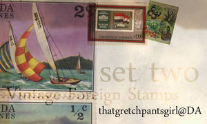 Vintage Foreign Stamps 2
