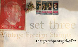 Vintage Foreign Stamps 3