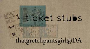 Ticket Stub Textures