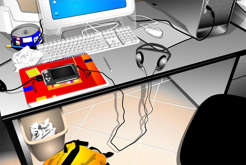 Bettle_Desktop by kelokera