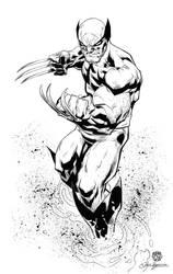 Wolverine Inked by Javilaparra