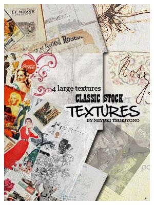 Classic_stock_Textures by Miyuki-Tsukiyono