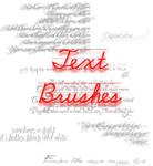 Text Brushes