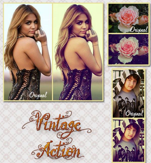 Vintage Action by JosmaJB