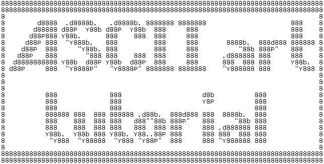 ASCII art tutorial 1.0