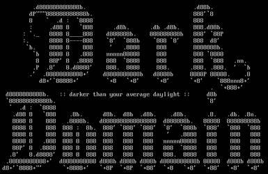 Dark Domain ASCII