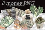 8 MONEY PNG