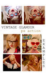 Vintage Glamour Action