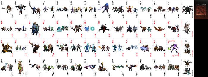 Dota 2 Playing Cards