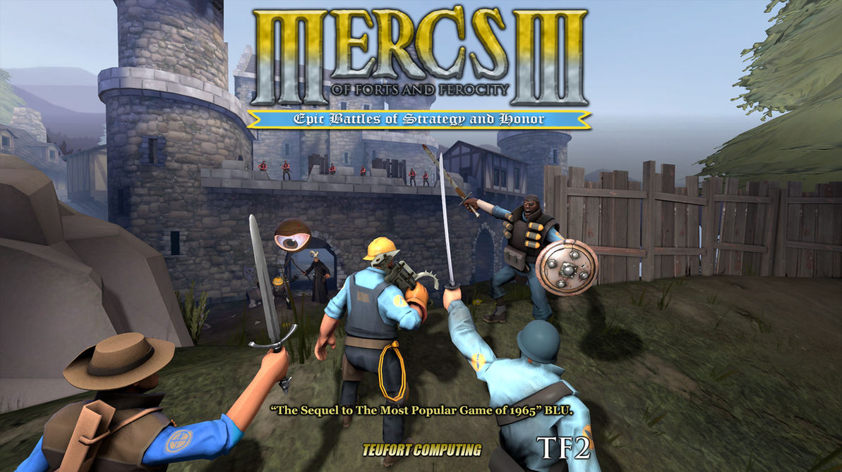 Mercs of Forts and Ferocity III (HoMM III) by HTML-Earth