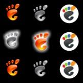 6 Gnome Footprint Orbs Pack by leepat0302