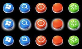 Buttons Orb Pack by leepat0302
