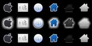 Apple Orb Pack 4 by leepat0302