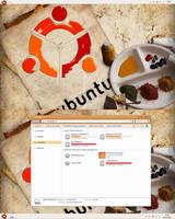Windows 7 Ubuntu Theme Mod by leepat0302