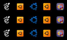 Ubuntu Orb Pack 4 by leepat0302