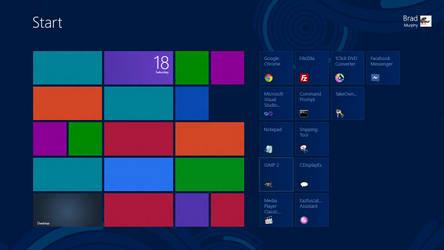 Fix Metro app tiles going blank and fix Bing apps