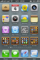 Booky Folder SD.theme For iPhone 3gs