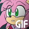 Amy Rose - Stop [animated gif] by SallyVinter