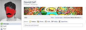 Menu User Facebook