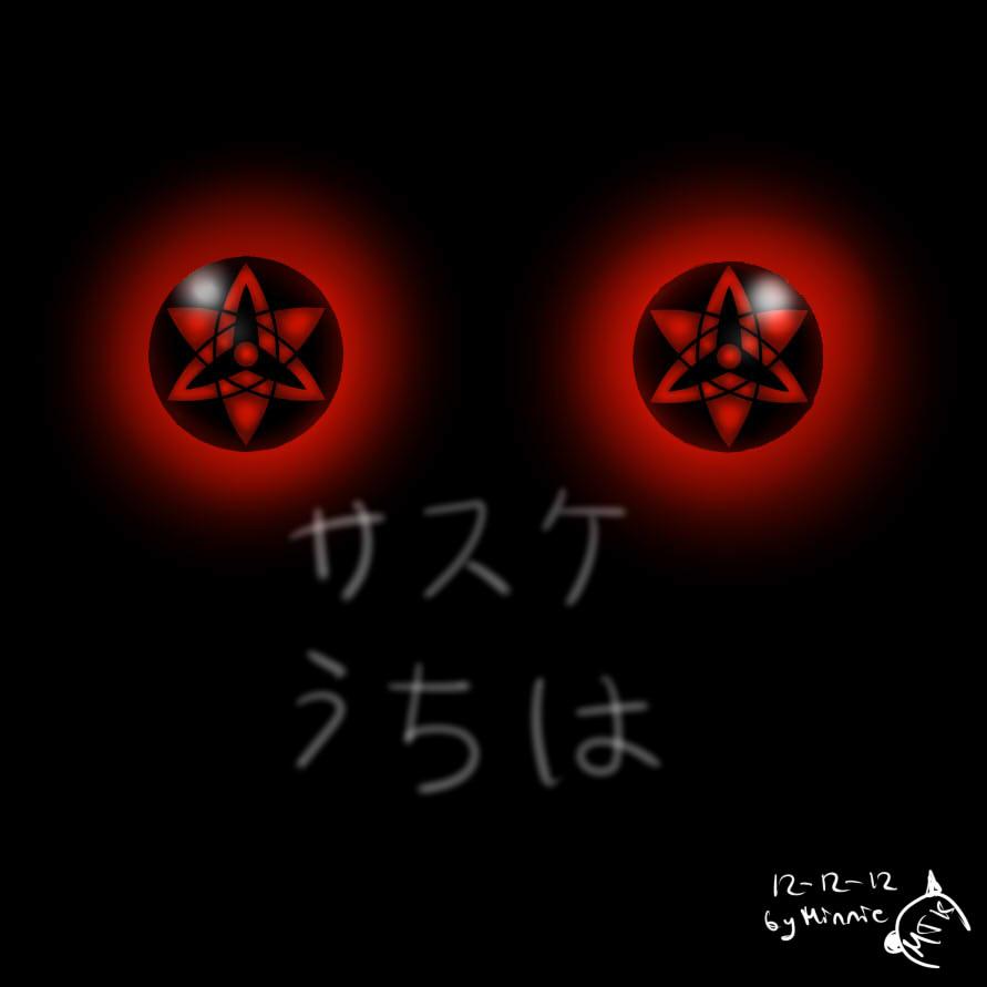 Sasuke Eternal Mangekyou Sharingan By Minniethekitty On Deviantart