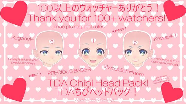 100+ Watchers Special - TDA Chibi/Child Head Pack!
