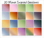 Monet-Inspired Gradients
