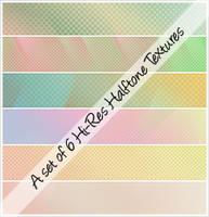 Halftone Textures by cazcastalla