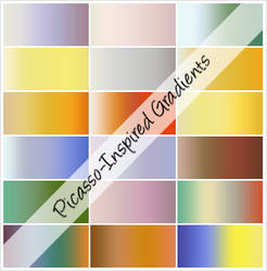 Picasso-Inspired Gradients by cazcastalla