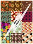 Retro Patterns by cazcastalla
