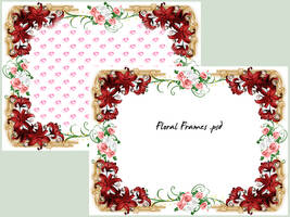 Floral Frames by cazcastalla