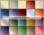New Year Gradients
