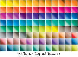 Pantone-Inspired Gradients by cazcastalla