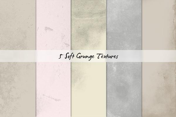 Soft Grunge Textures by cazcastalla
