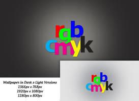 RGB/CMYK Wallpaper