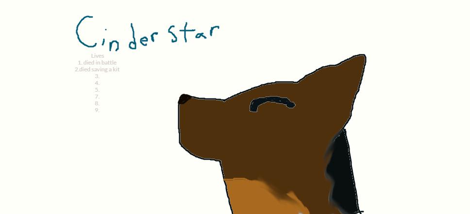 cinderstar by w33kday